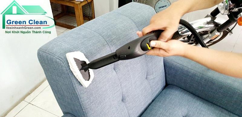 Dịch vụ giặt ghế sofa tại nhà tiện lợi, uy tín giá rẻ nhất Bình Dương